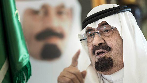 وفاة الملك عبدالله بن عبدالعزيز ومبايعة الأمير سلمان خلفا له