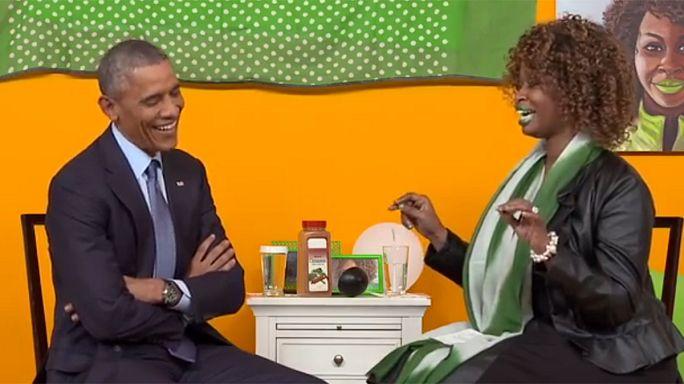 Barack Obama en directo a través de Youtube