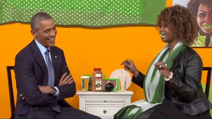 Barack Obama interrogé sur YouTube