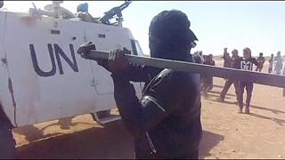 Hundreds in Mali protest over UN air-strikes