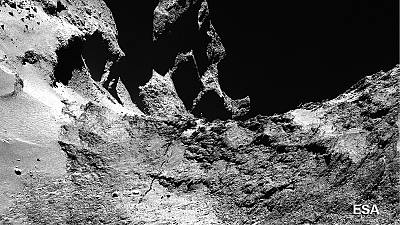 Rosetta's 67P comet shows signs of 'goosebumps'