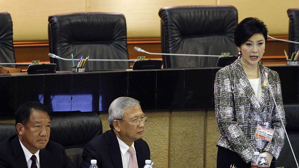 Yingluck Sinawatra podría seguir los pasos de su hermano Thaksin