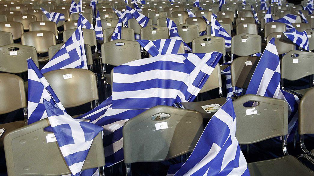 Los partidos griegos apuran las últimas horas de campaña electoral