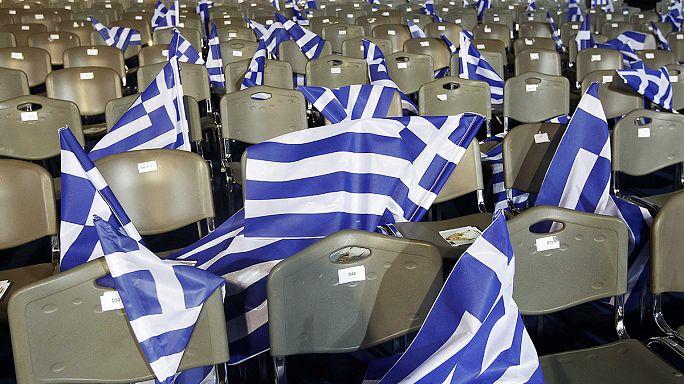 استطلاعات الرأي ترجح فوزا لسيريزا في الانتخابات اليونانية