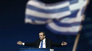 Greek election: Samaras makes final plea to voters, as polls show Syriza lead