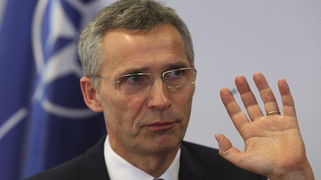 """Stoltenberg: """"Há cada vez mais material bélico russo na Ucrânia"""""""