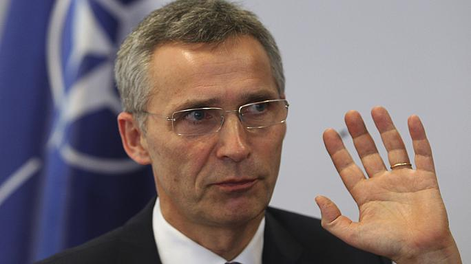 NATO chief prepares for talks with Russia, as fighting surges in eastern Ukraine