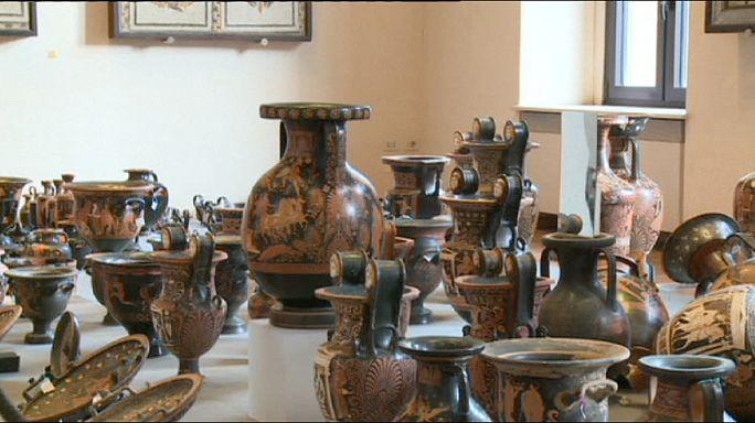 Italie: la police découvre des milliers de pièces d'archéologie volées