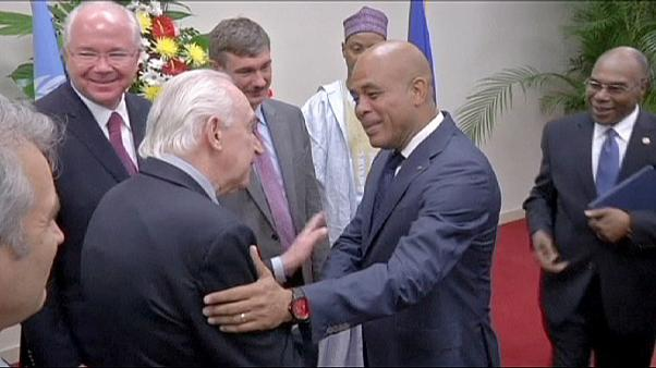 Haiti election deal sealed as UN team visits
