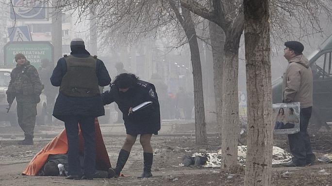 Ukrayna'nın Mariupol kentine ayrılıkçılardan saldırı