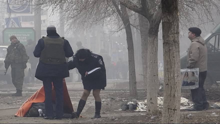 At least 27 killed in Ukraine shelling