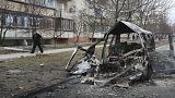 Ουκρανία: Εικόνες καταστροφής στη Μαριούπολη μετά από σφοδρούς βομβαρδισμούς
