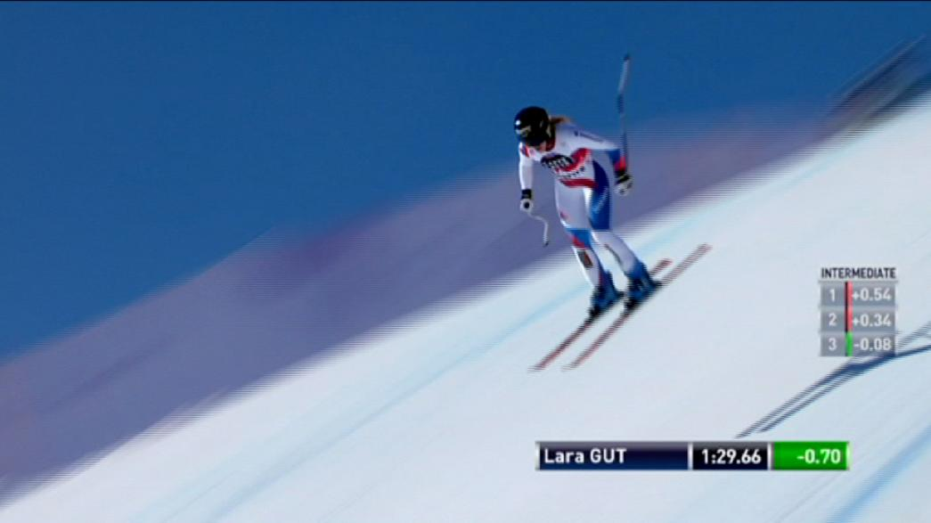 Ski-Welcup in St. Moritz: Heimsieg für Lara Gut