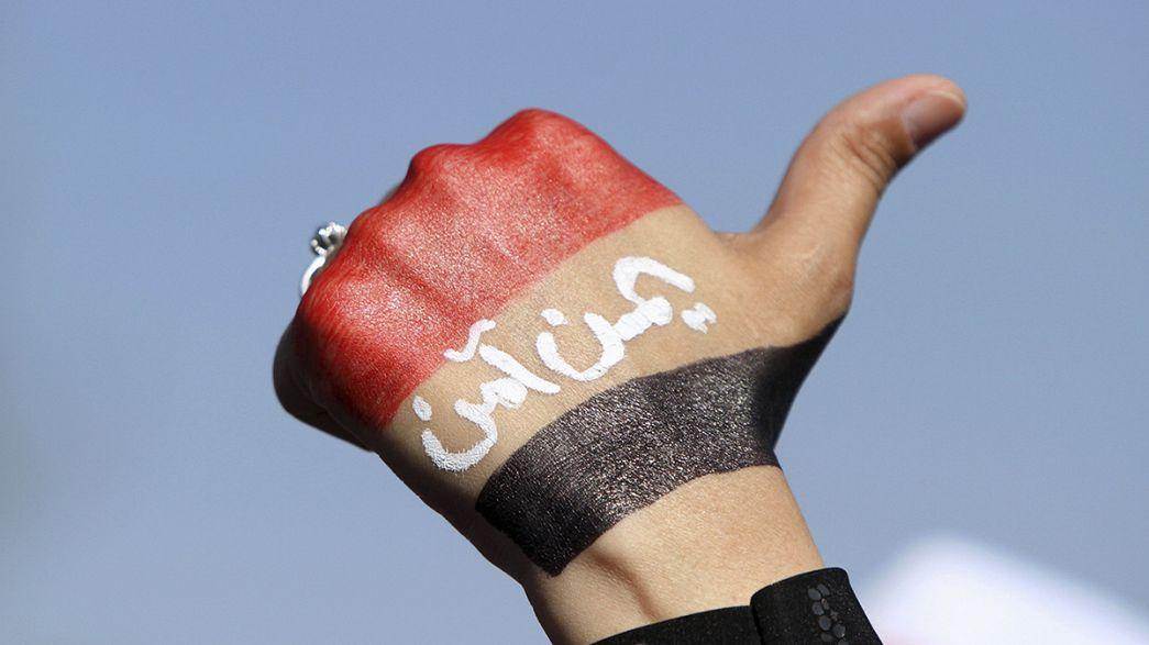 الالاف يحتجون ضد الحوثيين في صنعاء