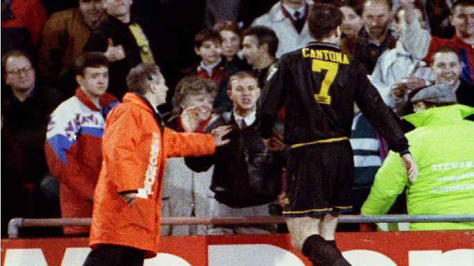 Cantona 20 év után elnézést kért a kungfu-rúgásért