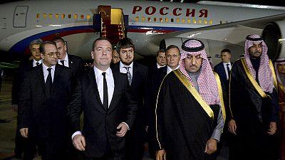 Líderes mundiais apresentam condolências na Arábia Saudita