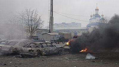 Ukraine: jusque-là épargnée, Marioupol touchée par la violence