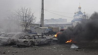 US and EU officials condemn deadly rocket attacks in Mariupol