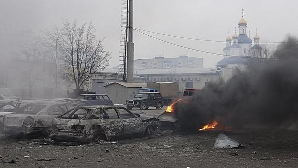 Ucrânia: Banho de sangue de civis em Mariupol