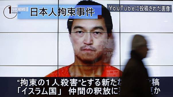 Japanese PM condemns apparent ISIL killing of hostage as 'outrageous'