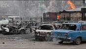 Horror as dozens killed in rocket attacks on Ukraine's Mariupol