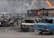 Horror as dozens killed in rocket attacks on Ukraine's Mariupol