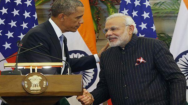 Барак Обама прибыл с официальным визитом в Индию