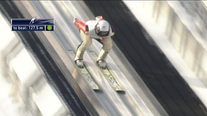 Saut à ski : Koudelka puissance quatre