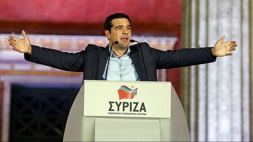 Греция: СИРИЗА празднует победу