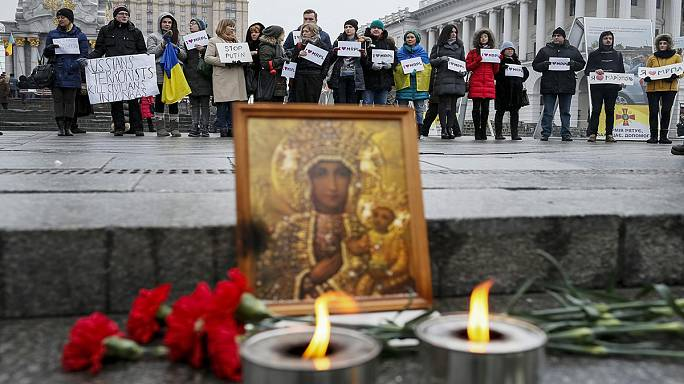 L'Ukraine en deuil après la tragédie de Marioupol
