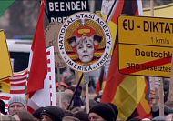 Dresden holds first PEGIDA protest since founder's 'Adolf Hitler' photo blunder