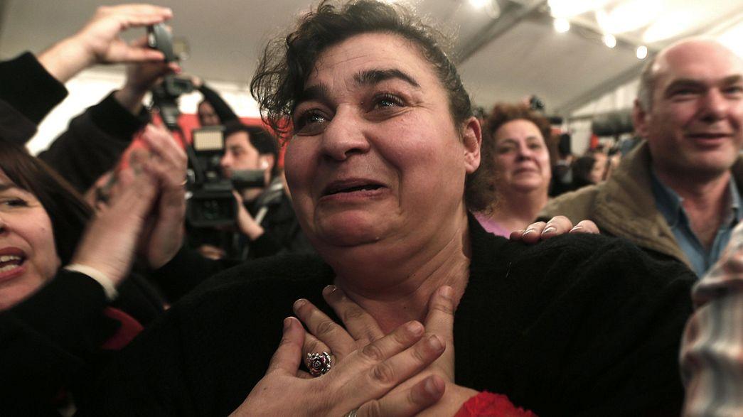 Apoiantes do Syriza confiam em futuro menos precário para a Grécia