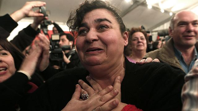Grèce : joie des partisans de Syriza, déception de militants de Nouvelle Droite
