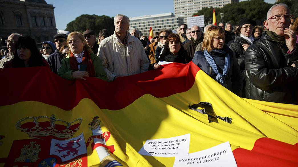 Un millar de madrileños protestan contra la ley mordaza