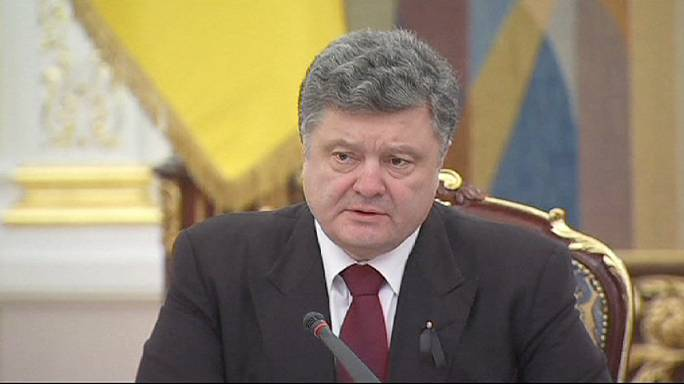 الرئيس الأوكراني يؤكد أن حكومته تعطي الأولوية لتهدئة  التصعيد مع الانفصاليين الموالين لروسيا