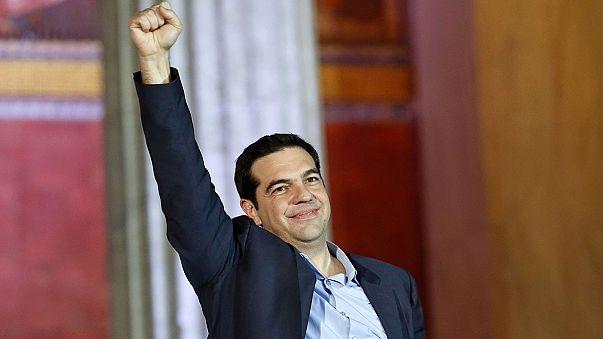 Historischer Wahlsieg: Linksbündnis Syriza stärkste Kraft in Griechenland