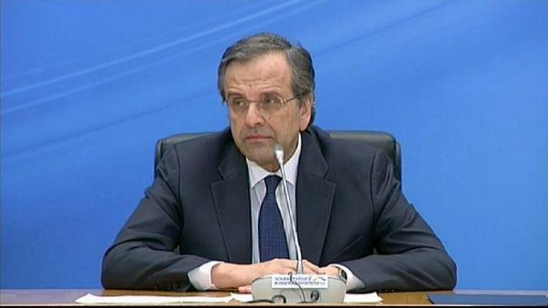 رئيس الوزراء اليوناني يقر بهزيمة حزبه في الانتخابات التشريعية المبكرة