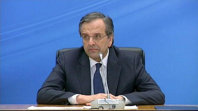 La droite grecque, battue, insiste sur les liens avec l'Europe