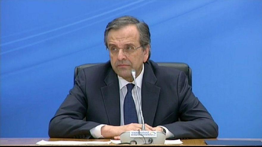 Primeiro ministro grego assumiu a derrota