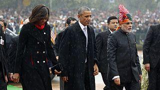 Obama Hindistan'da Cumhuriyet Bayramı etkinliklerine katıldı