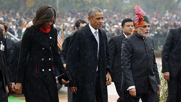 Barack Obama a nemzeti parádé díszvendége Indiában