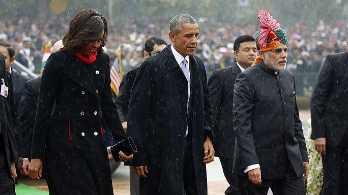 Un président américain invité d'honneur de la fête nationale indienne, une première