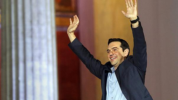Yunanistan'da Syriza taraftarları sonuçtan memnun