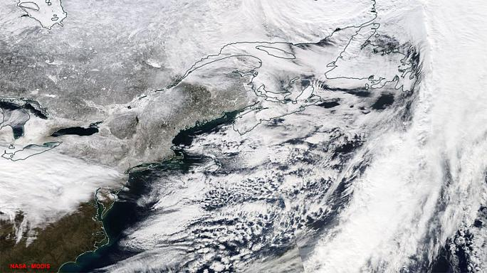 Gewaltiger Schneesturm bedroht New York und weite Teile der Ostküste der USA