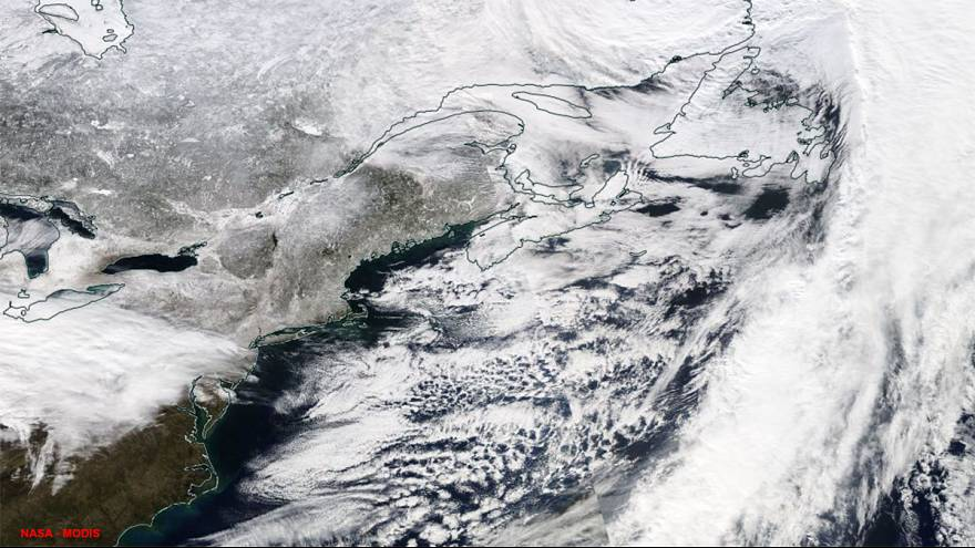Massive snowstorm forecast for northeast United States