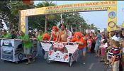 Thailand: 2015 Pattaya International Bed Race
