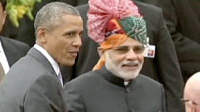US President Obama takes part in India's annual Republic Day festivities – nocomment
