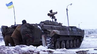 Ukraine rebels pursue offensive in worst fighting since September