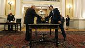Left-wing, anti-austerity and non-religious: New Greek PM Tsipras takes the reins