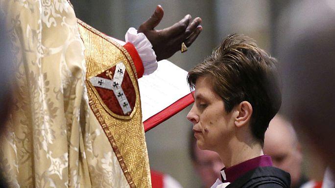 Beiktatta az anglikán egyház első női püspökét